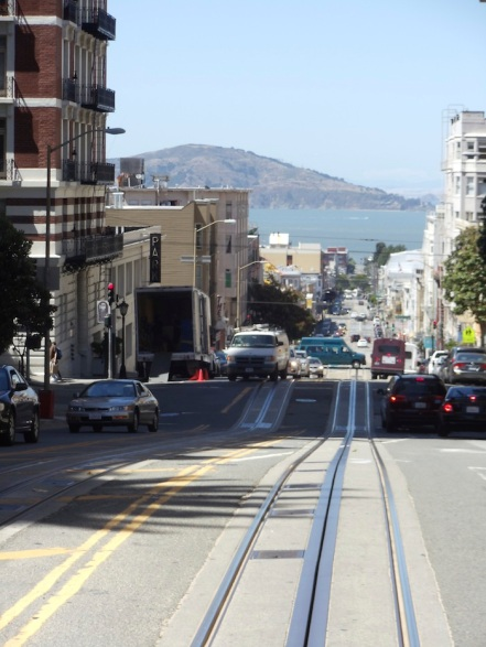 Enjoying the ride that is life with its up and downs cable car style
