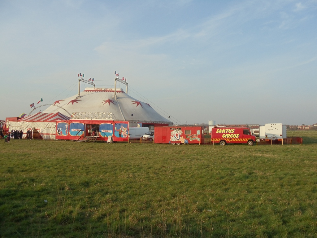 The big top comes to town